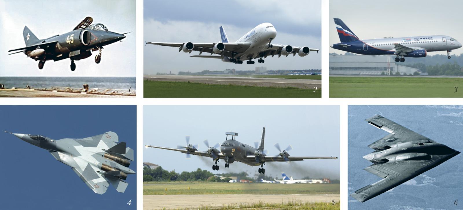Классификация самолетов по назначению